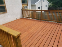 Deck Staining and Restoration
