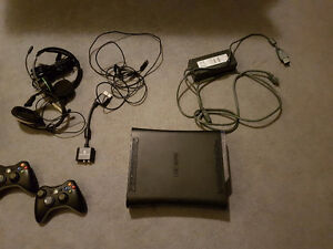 Xbox 360 | 2 Controllers | 2 Headsets | Games