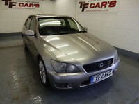 2004 04 reg Lexus IS 200 2.0 AUTO - MOT UNTIL 16/11/2017!