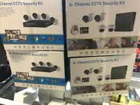 Brand New 4 Channel CCTV Kits, DVR