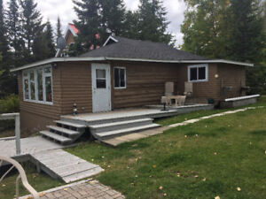 LOG COTTAGE FOR SALE ON REMI LAKE #TM172261