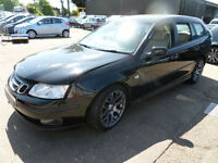SAAB 9-3 1.8t SPORT WAGON Linear Sport DAMAGED REPAIRABLE SALVAGE