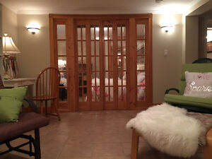 PRIVATE furnished 1 BD apartment  in owner's quiet house $795