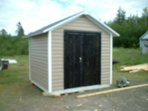 Another New Insulated Ulity Shed