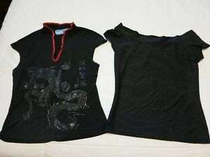 2 Short Sleeve Tops