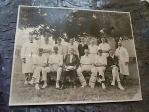 Vancouver Cricket Club - Vintage Stuart Thomson Photo - Circa 19