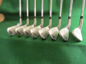 "Mens +2"" RH Iron Set - Great for a Really Tall Golfer"