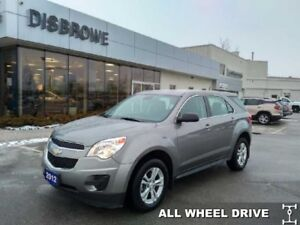 2012 Chevrolet Equinox LS  AWD, Bluetooth, Trade In