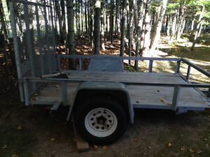 Utility trailer galvanized