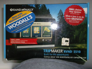 GPS RAND MCNALLY RV 5510