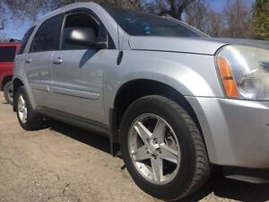 2005 Chevy Equinox AWD. Htd leather and Moonroof in yorkton