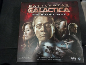 Battlestart Galactica (Out of print) + all expansions + more