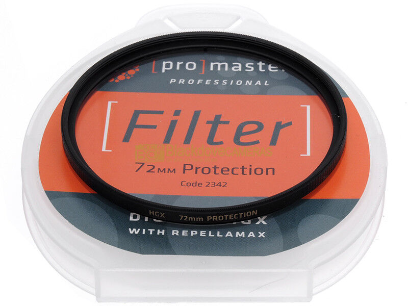77mm. filtro trasparente Protection HGX Promaster. Protector filter.
