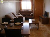 Costa Blanca, 2 bedroom apartment, a/c, English TV, sleeps up to 6. May-June £220.00 pw (SM058)
