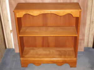 Solid Maple Book Case