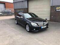2007 57 MERCEDES-BENZ C200 KOMPRESSOR 1.8 AUTO SPORT ONLY 70,000 MILES WARRANTED