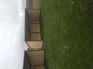 Portable HD Horse Shelters 10'x20'
