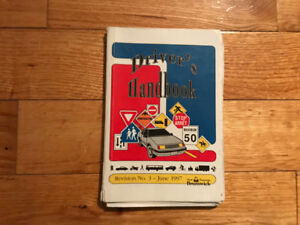 REDUCED PRICE USED DRIVER'S HANDBOOK
