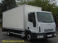 Iveco EuroCargo 100E22 [ Low Mileage ] 20ft Box body + T/Lift 2006/ 56