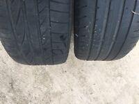 """BMW 3 series runflat tyres m sport e90 320d 17"""""""