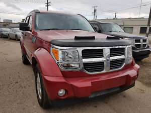 2009 Dodge Nitro 4X4 * FREE WARRANTY* LOW MILEAGE / NO ACCIDENT