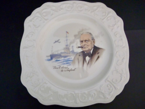 Plate, Commemorative, Winston Churchill, C1965, collectors piece