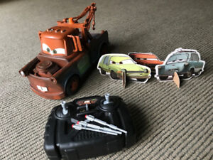 Air Hogs/Cars 2 - Missile Firing Remote Control Mater tow truck