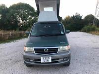99S MAZDA BONGO 2.5 AUTO LPG 8 SEAT POP TOP FREETOP CAMPER ONE UK OWNER PX SWAPS