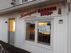 Barber Shop (Available Immediately)