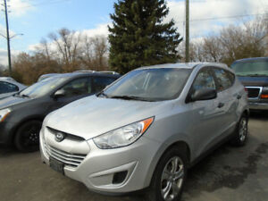 2012 Hyundai Tucson GL $ 6950 Certified & Etested