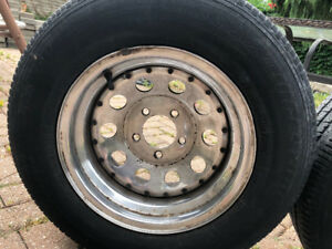 Four all season truck tires