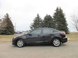 2012 Mazda 3 Sedan- ONE OWNER SINCE NEW!!  Just $49/ per week