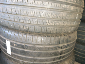 235 60 18 part worn tyres matching pirelli all weather used tires
