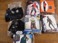 Darth-Vader, Pre Vizsla, General Grevious, 3x Spider-man,