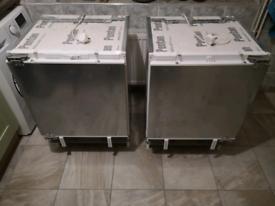Integrated fridge and freezer