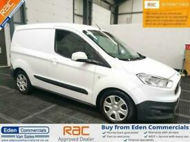 2017 66 FORD TRANSIT COURIER 1.5 TREND TDCI WHITE PANEL VAN