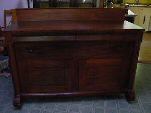 Antique Empire sideboard/server buffet
