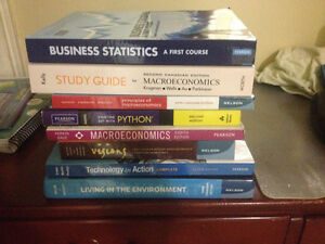 Textbooks for sale in excellent condition