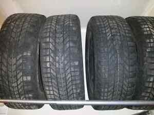 18 in firestone winter tires with rims from uplander