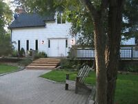 Large century home on 1 acre, 8 minutes N. of Georgetown