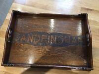 Sandringham tray