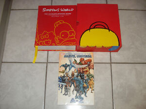 Simpson's World The Ultimate Episode Guide & Marvel Books!!