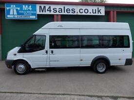 Ford Transit 115ps,12st W/Chair Access Minibus