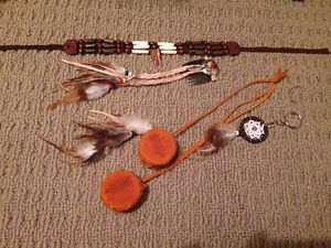 Lot of native locally handcrafted items