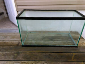 Fish Tank Aquarium with supplies