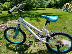 Girls medium size bike