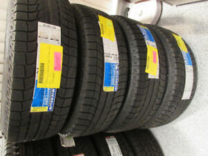 SAVE WELL OVER $1,300. 4 NEW MICHELIN WINTER TIRES & ALLOY  RIMS
