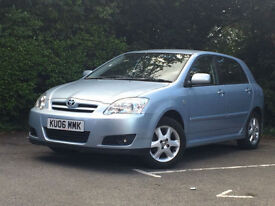 Toyota Corolla 1.6 VVT-i auto Colour Collection FULL AUTOMATIC 44K MILES