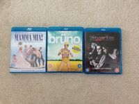 Blu ray DVDs *£5 for all 3*