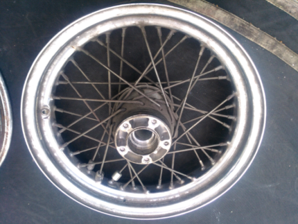 "16"" Harley wheel Mackay Mackay City Preview"